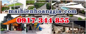 Chuyên tư vấn & thiết kế mái hiên di động, mái tôn, mái hiên, mái vòm, mái che di động, mái xếp - 0917344855